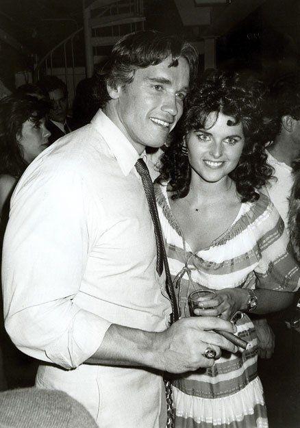 Fun Set?: Arnold Schwarzengger and Maria Shriver at Studio 54
