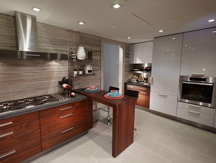 stadthaus küche design - küchenmöbel reihenhaus-küche