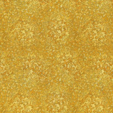 Robert Kaufman Fabrics: EYJM-6644-136 BUTTERCUP from Fusions® 6644