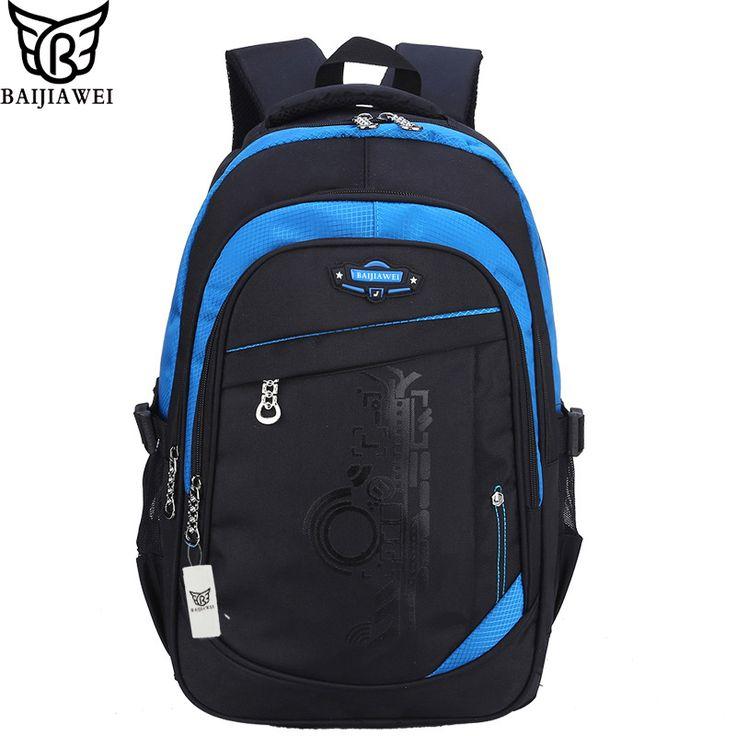 BAIJIAWEI New Backpack For Children Printing Backpack Brand Design Child School Bags Fashion Backpacks For Teenage mochila