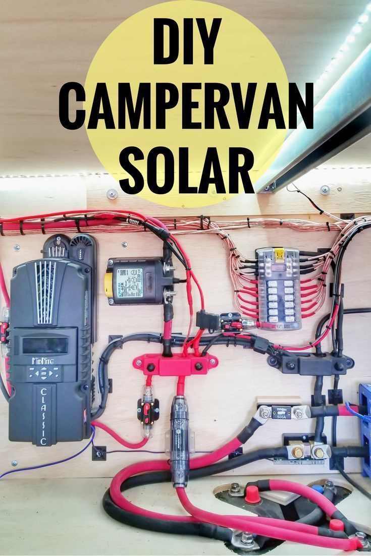 825 watts of diy solar for our camper van life makes working from the road possible for  [ 735 x 1102 Pixel ]