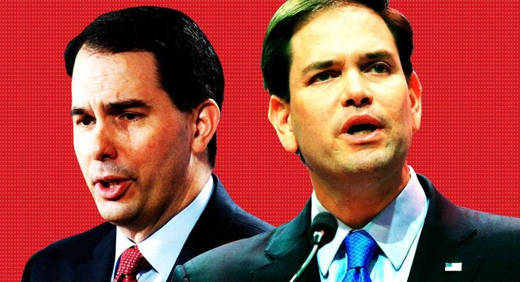 In early horse race, Rubio threatens Walker In primary within the primary, the Florida senator and the Wisconsin governor fight for the same space.   Read more: http://www.politico.com/story/2015/05/in-early-horse-race-marco-rubio-threatens-scott-walker-117529#ixzz454YgoM3U  Follow us: @politico on Twitter | Politico on Facebook
