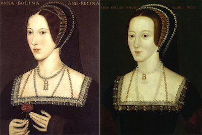 Anne Boleyn, Hever Castle and NPG portraitshis site discusses various portraits reported to be portraits of Anne, the mother of Elizabeth I of England, and second wife of Henry VIII