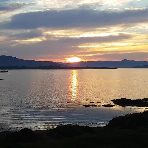 Coucher de soleil | #ecosse #Scotland #sunset #water #landscape #paysage #inspiration #peaceful #lac