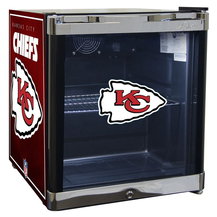NFL Kansas City Chiefs 1.8 Cubic Foot Refrigerated Beverage Center