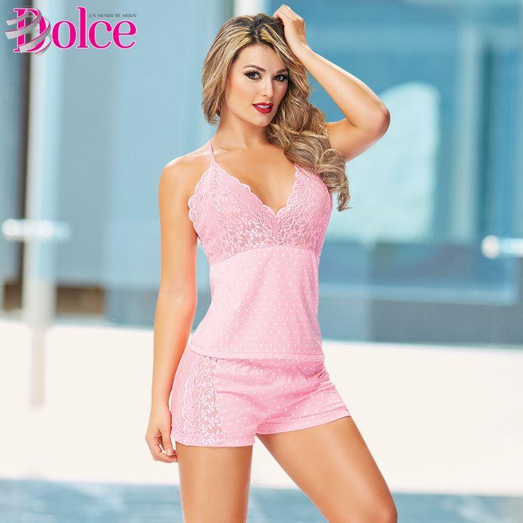 Sensualidad y comodidad, una mezcla esencial en las pijamas de Dolce.  Conoce más acerca de nuestras propuestas en: www.dolcecatalogo.com