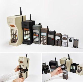 Nesting Doll phones. haha