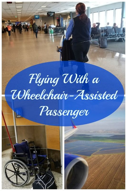 Did you know that airlines offer wheelchair assistance from curb to gate if you need it?  Here's everything you need to know if you're traveling with a wheelchair-assisted passenger... #wheelchair #flying #handicappedassistance