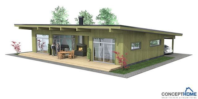 Inexpensive Contemporary House Moderna Affordable House Plans