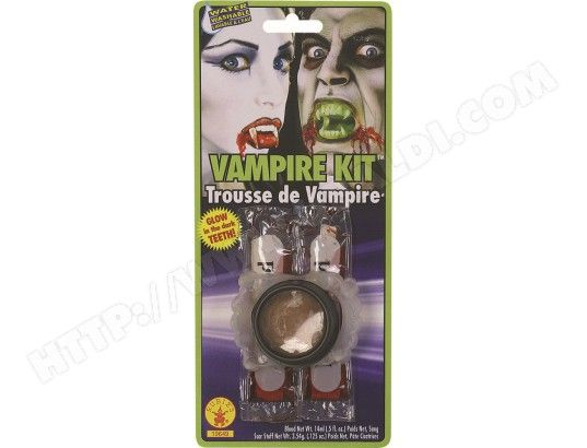 Dentier RUBIE'S Kit Vampire Avec Crocs Phosphorescents - I19649 #halloween