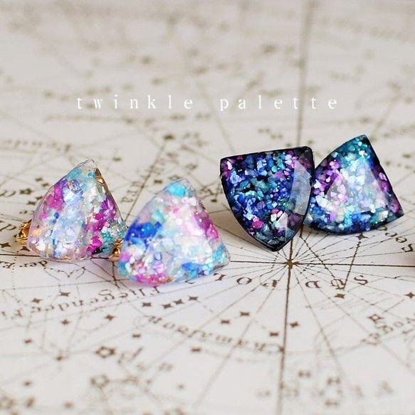twinkle palette ピアス/イヤリング