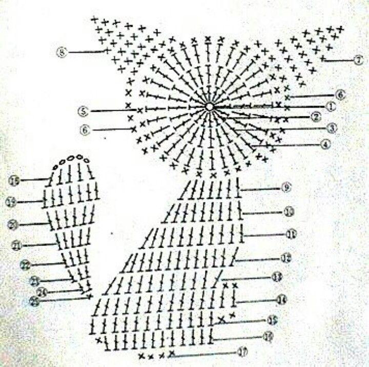 crochet applique cat