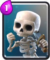 Esqueletos - Estratégias para atacar e defender em Clash Royale Deck