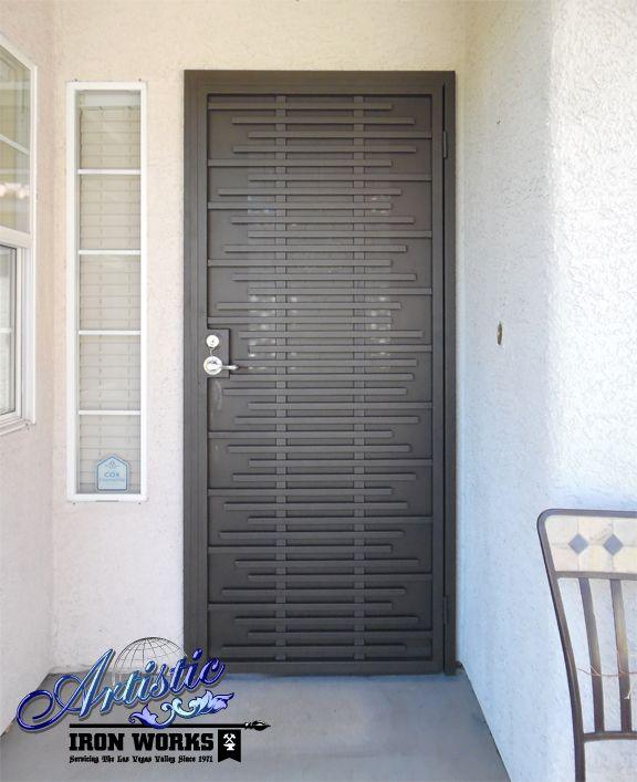 Asford - Wrought iron security door - SD0266                                                                                                                                                                                 More