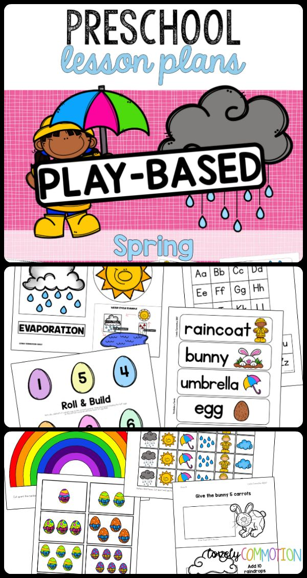 128 best PRESCHOOL LESSON PLANS images on Pinterest Preschool - preschool lesson plan