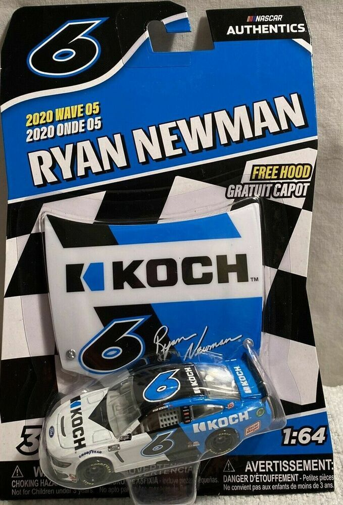 2020 Wave 5 Ryan Newman Koch Industries Dnp 1 64 Nascar Authentics Diecast Nascarauthentics Ford Ryan Newman Enterprise Car Nascar Diecast