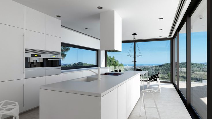 Javea House, interior, kitchen