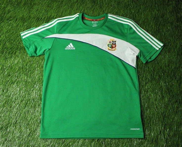 BRITISH and IRISH LIONS TOUR TO SOUTH AFRICA 2009 RUGBY SHIRT JERSEY ADIDAS