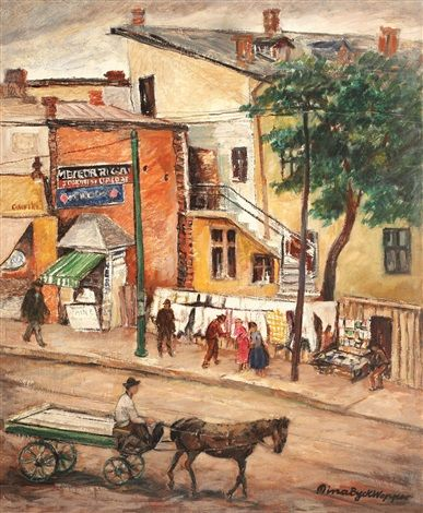 Grivița Boulevard by Mina Byck Wepper