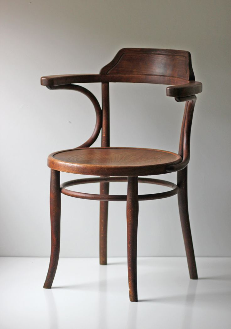 marked Thonet cafe bistro bentwood chair via Etsy.