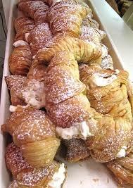 Lobster tails - Italian pastry rocks