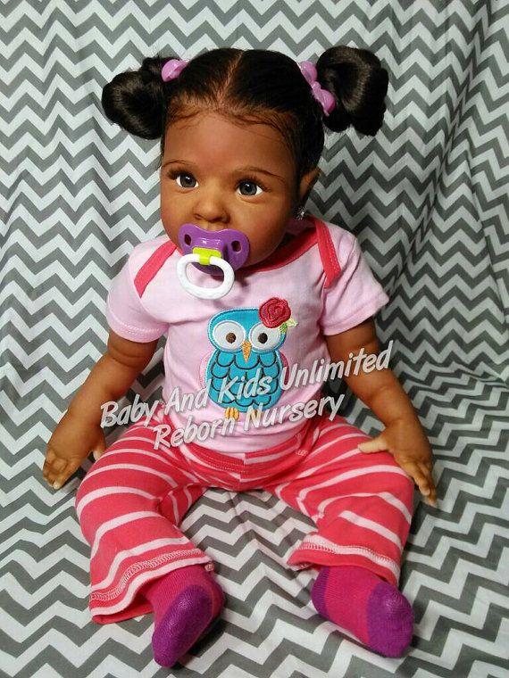 AA reborn babyAfrican American Biracial by BabyandKidsUnlimited