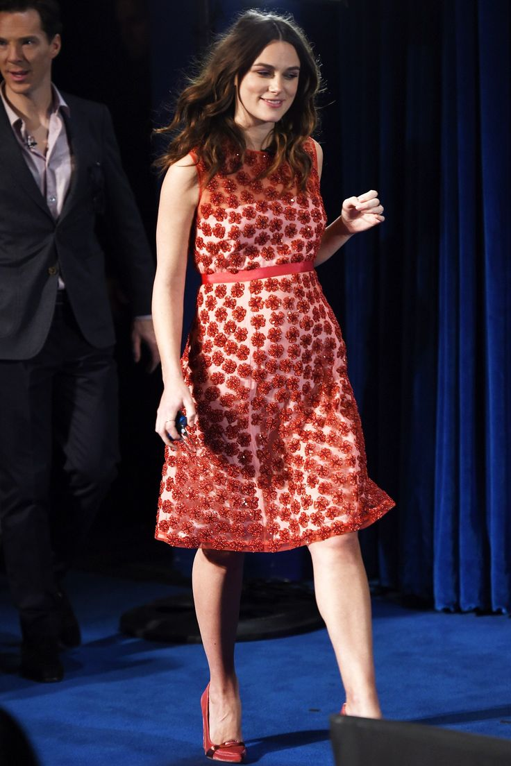 Keira Knightley in an Alexander Lewis dress - click through to see the week's best dressed list