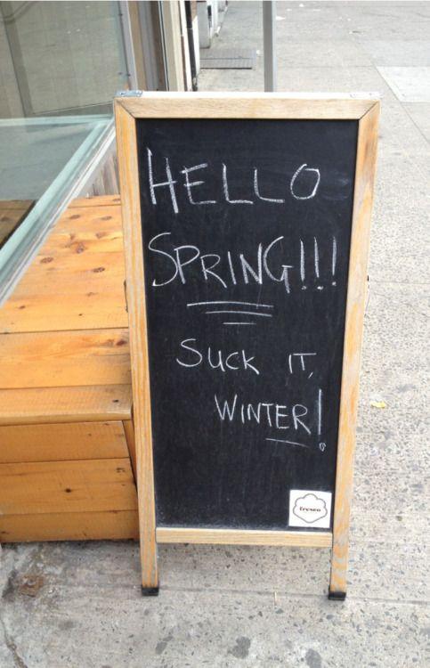 Spring finally hits NYC…and I love it! Fresco New York, NY 05/01/13
