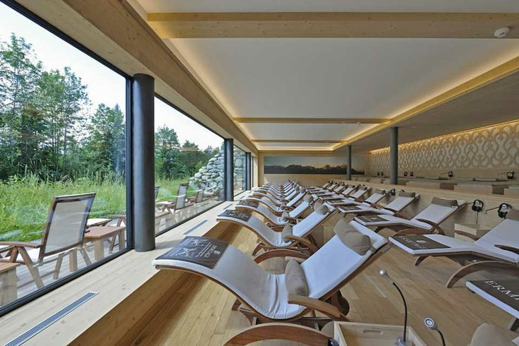 Wellness & Spa Hotel Ermitage, Schönried ob Gstaad Panorama-Ruhesaal «Chouflisalp»