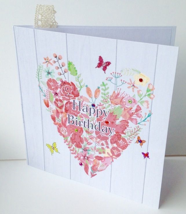 Birthday Card,Greeting Card,Handmade Can Be Personalised £1.95