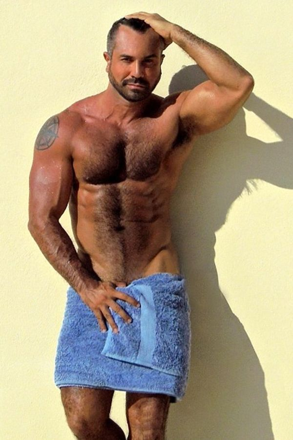 Hairy Arms Man 28