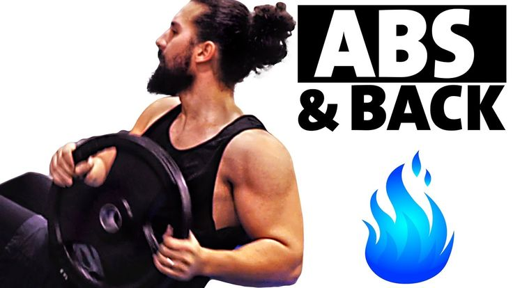ABS & BACK WORKOUT, for men and women !