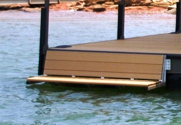 swim bench, dock bench, lake hartwell, lake keowee, lake jocassee