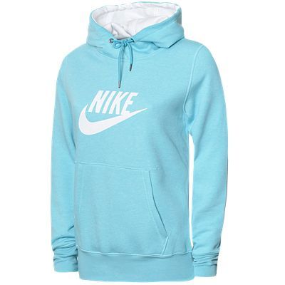 Fashion Women Clothes on Women Womens Clothing Hoodies Nike Logo Hoody
