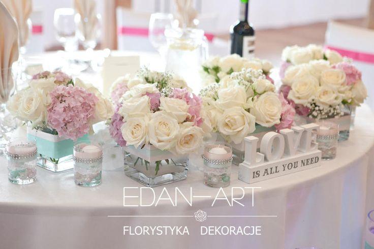 Dekoracje Ślubne Edan-Art, Kwiaty do ślubu warmińsko-mazurskie. Restauracja…