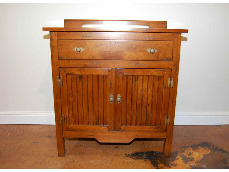 Gallery One bathroom vanities and cabinets Distressed Cherry French Country Bathroom Vanity Free Shipping