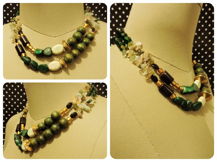 WILD GREEN Price: $78.000COP #howlite #malachite #calms #onix #protection #love AVAILABLE (Free shipping in Bucaramanga)