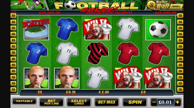 The Football Rules mobile slot from Playtech.