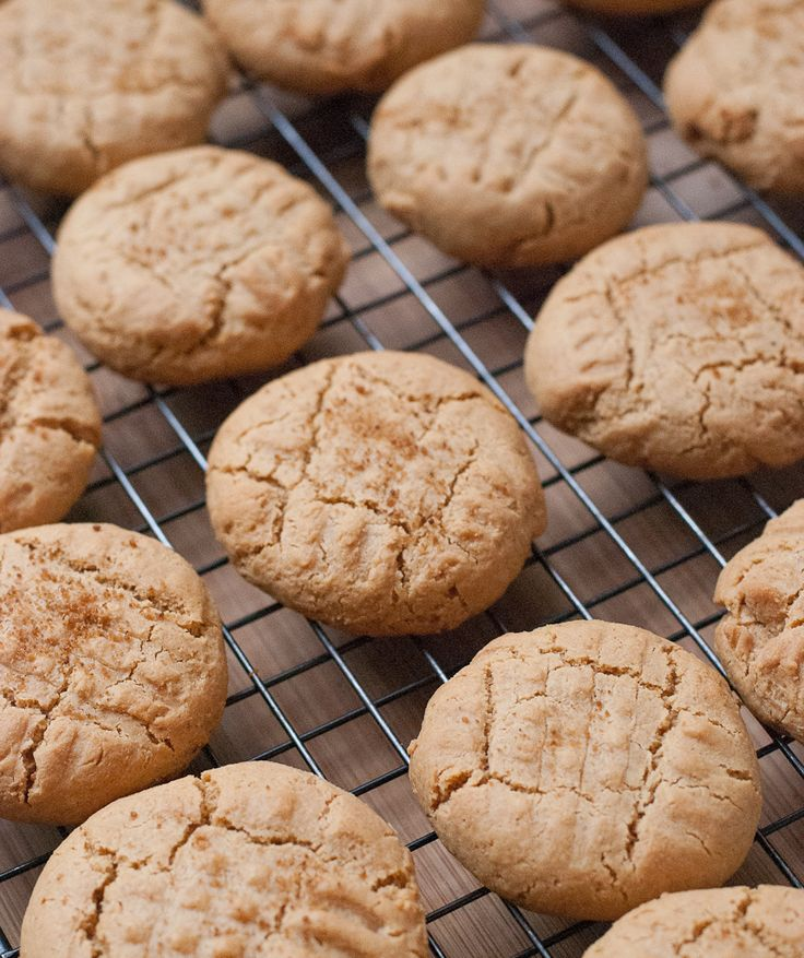 Soft Coconut Peanut Butter Cookies For National Peanut Butter Day Via PineappleandCoconut.com