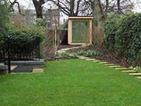 Garden lodge view