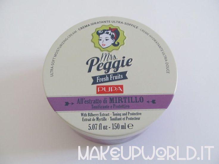 Pupa Mrs Peggie - Mirtillo #skincare #body #face #cream