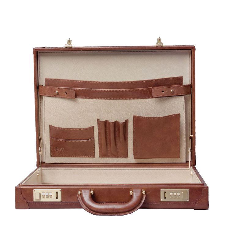 The stunning slimline scanno Attaché case, so good its has 25 year warranty!