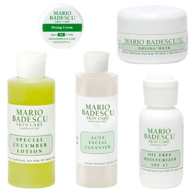 32 Best Beauty Products For Teens The Goddess Mario Badescu Anti Aging Anti Aging Kit Mario Badescu Acne