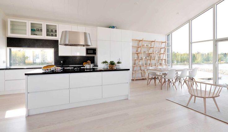 Huusholli keittiöt toimitti kolmeen asuntomessukohteeseen keittiöt ja muut kiintokalusteet.