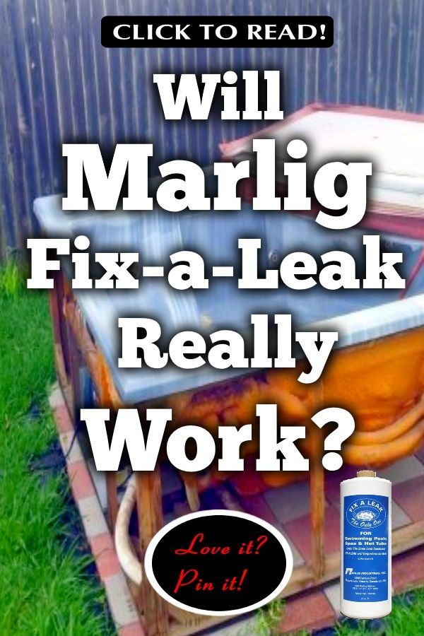 Marlig Fix A Leak Review Will It Stop