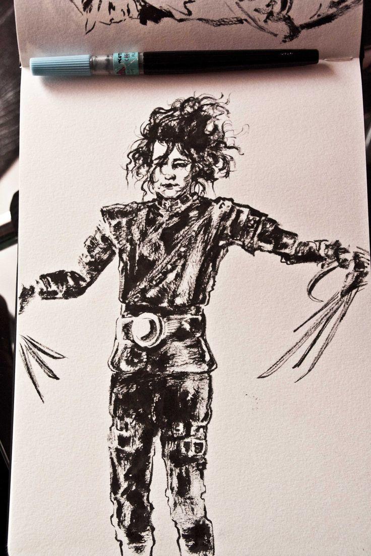 ink sketch                                                 by F.Colafella