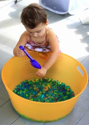 Sensible Sensory: Water Beads