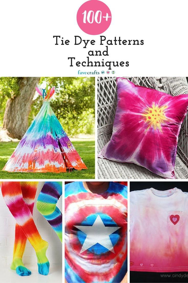 how to make tie dye shirt patterns