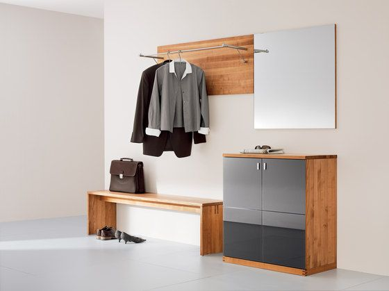 Built-in wardrobes | Hallway | cubus entry hall | TEAM 7. Check it out on Architonic