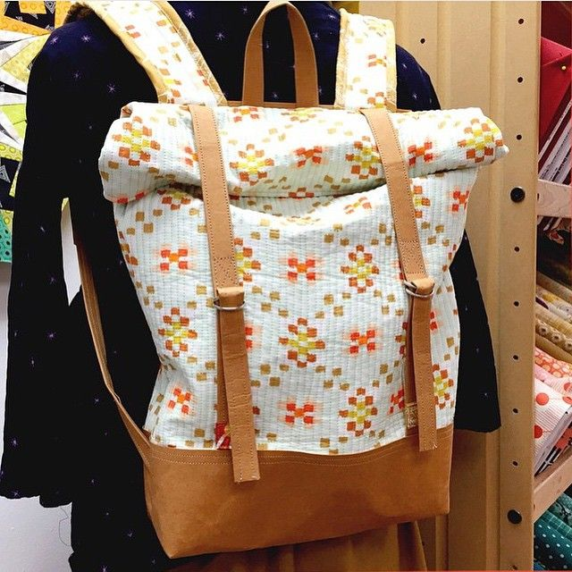 #repost from @urbanspools. Isn't this #BudapestRucksack amazing?!?
